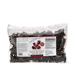 Sun Dried Red Hibiscus Flower 125gr