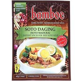 Bamboe Bamboe Soto Daging