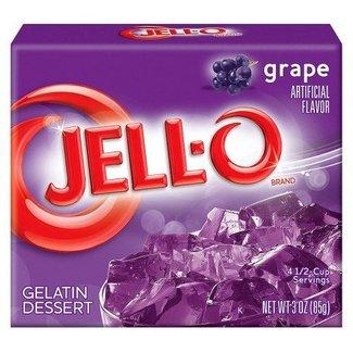 Jell-O Jell-o Grape Gelatin 85gr | 3 OZ