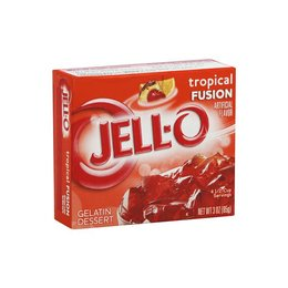 Jell-O Jell-o Tropical Fusion Gelatin 85g 3 OZ