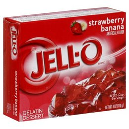 Jell-O Jell-o Strawberry Banana Gelatin 85gr | 3 OZ