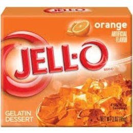 Jell-O Jell-o Orange Gelatin 85gr | 3 OZ