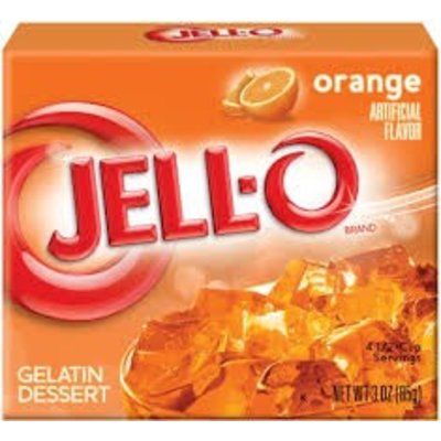 Jell-O Jell-o Orange Gelatin 85g 3 OZ