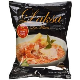 Laksa La Mian Noodles 185g Prima Taste
