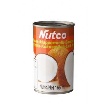 Nutco Nutco Coconut Milk 165 ml