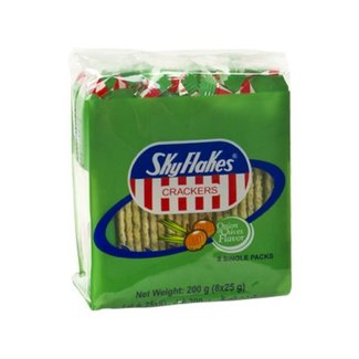 M.Y. San Skyflakes Crackers Onion & Chives Flavour