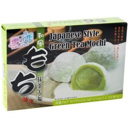 Yuki & Love Rijst cake met groene thee Mochi