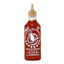 Sriracha Hot Chilli Sauce with extra Garlic 455ml