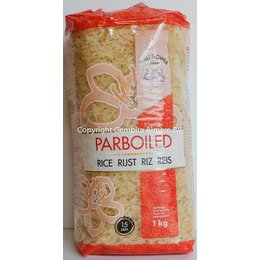 Mali Flower Brand Parboiled rice 1kg