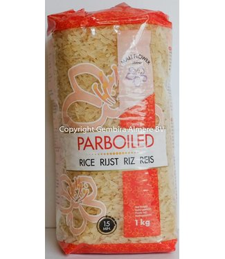Mali Flower Brand Parboiled rice 1kg