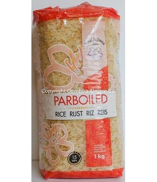 Mali Flower Brand Parboiled rijst 1kg
