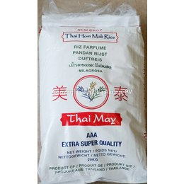 Thai May Jasmine rice 20 kg