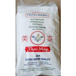 Thai May Pandan rijst 20 kg