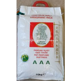 Green Dragon Jasmine rice 10 kg
