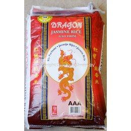 Dragon Jasmijn rijst 20 kg lange korrel