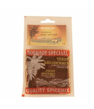 Indonesia Boemboe Babi Ketjap Nr. 15   100 gram