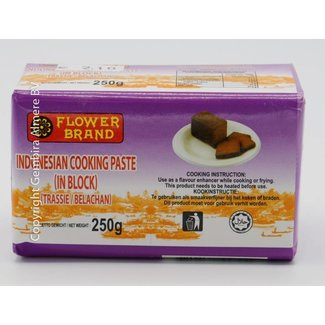 Flower Brand Indonesian Cooking Paste in blok 250g