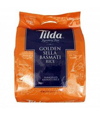 Tilda Tilda Golden Sella basmati rice 5 kg