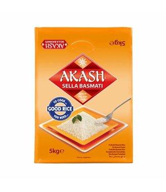 Akash Akash Sella Basmati rijst 5 kg