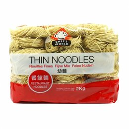 Thin Noodle Fijne Bami 2kg Chefs World