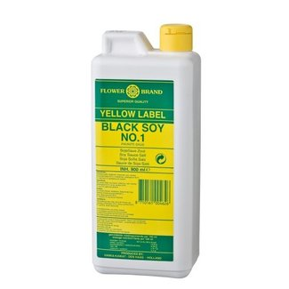 Flower Brand Yellow Label Black Soy 900ml