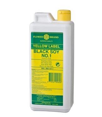Flower Brand Yellow Label Black Soy 900ml