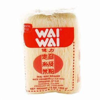 Wai Wai Rijst vermicelli 0.5mm 400gr
