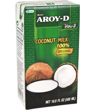 Aroy-D Aroy-D Carton of Coconut Milk 500 ml