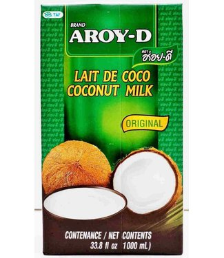 Aroy-D Coconut Milk UHT 1 liter