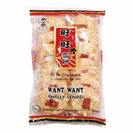 Rice Crackers Want Want Shelly Senbei 150gr