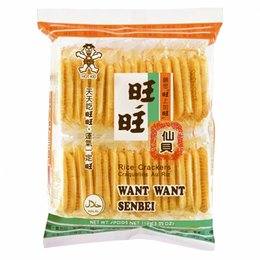 Rice Crackers Want Want Senbei 112gr