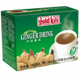 Gold Kili Ginger Drink with honey / Tea 10pcs