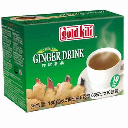Gold Kili Ginger Drink  with honey / Thee 10st Gold Kili