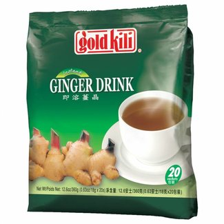 Ginger Drink with honey / Tea 20st - Gold Kili