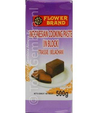 Flower Brand Garnalenpasta in blok (Trassie) 500g