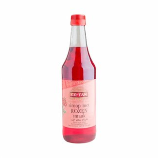 Go Tan Exotic rose syrup 500 ml