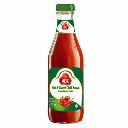 ABC Hot & Sweet chili sauce 335 ml