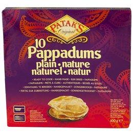 Patak's Pappadums Natural