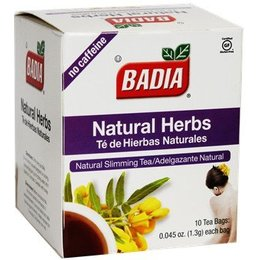 Badia Natural Herbs 10 Tea Bags