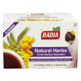 Badia Natural Herbs 20 Tea Bags - Slimming Tea