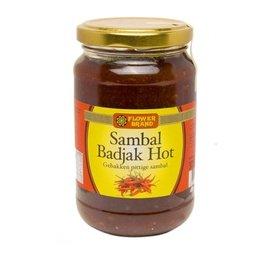 Flower Brand Sambal Badjak Heet 375g