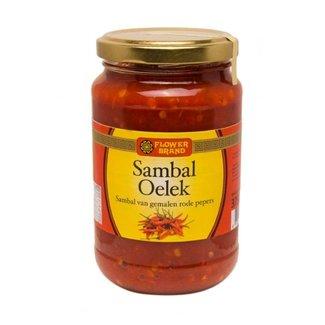 Sambal Oelek 375g Flower Brand