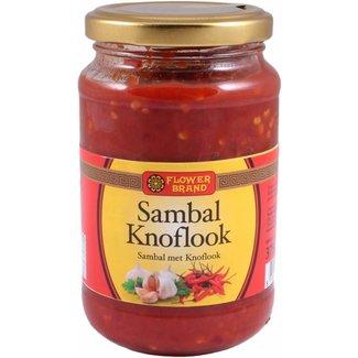 Sambal knoflook 375 g flower brand
