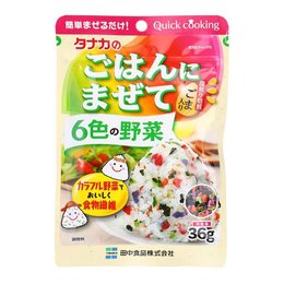 Tanaka Seasoning Powder Six Vegetable 33gr