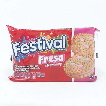 Noel Festival Aardbei/Fresa koekjes 12 pack