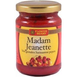 Flower Brand Madam Jeanette sambal  rood 200g