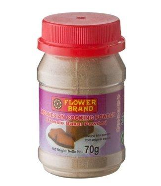 Flower Brand Trassi bakar poeder 70g