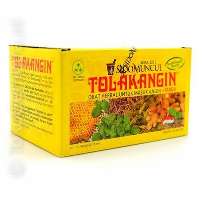 Tolak Angin +Honey 12 Sachets  Sidomuncul