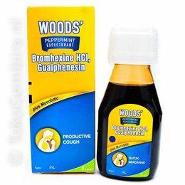Woods Peppermint Hoestsiroop 100ml
