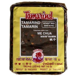 Cock Brand Tamarind without kernel 454gr